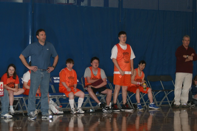 Coach Mark setting the tone!