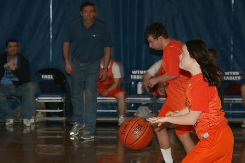 Sarah and RyGuy on the Fast Break!